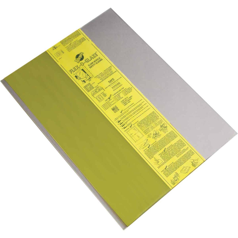 "Flex-O-Glaze 48"" x 96"" .093 Safety Glazing Acrylic Sheet Image 1"