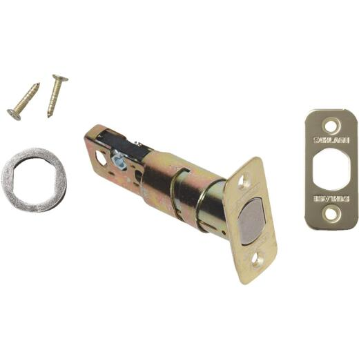 Schlage Interior Deadbolt Latch with 4 Round Corner Faceplates