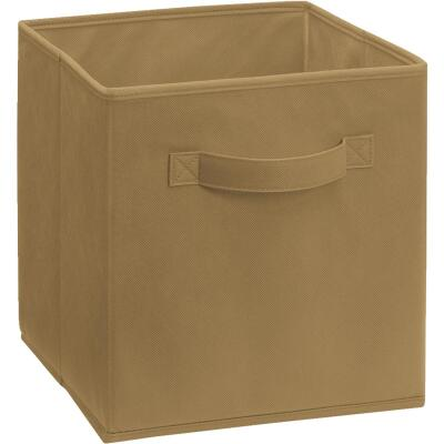 ClosetMaid Cubeicals 10.5 In. W. x 11 In. H. Mocha Fabric Drawer