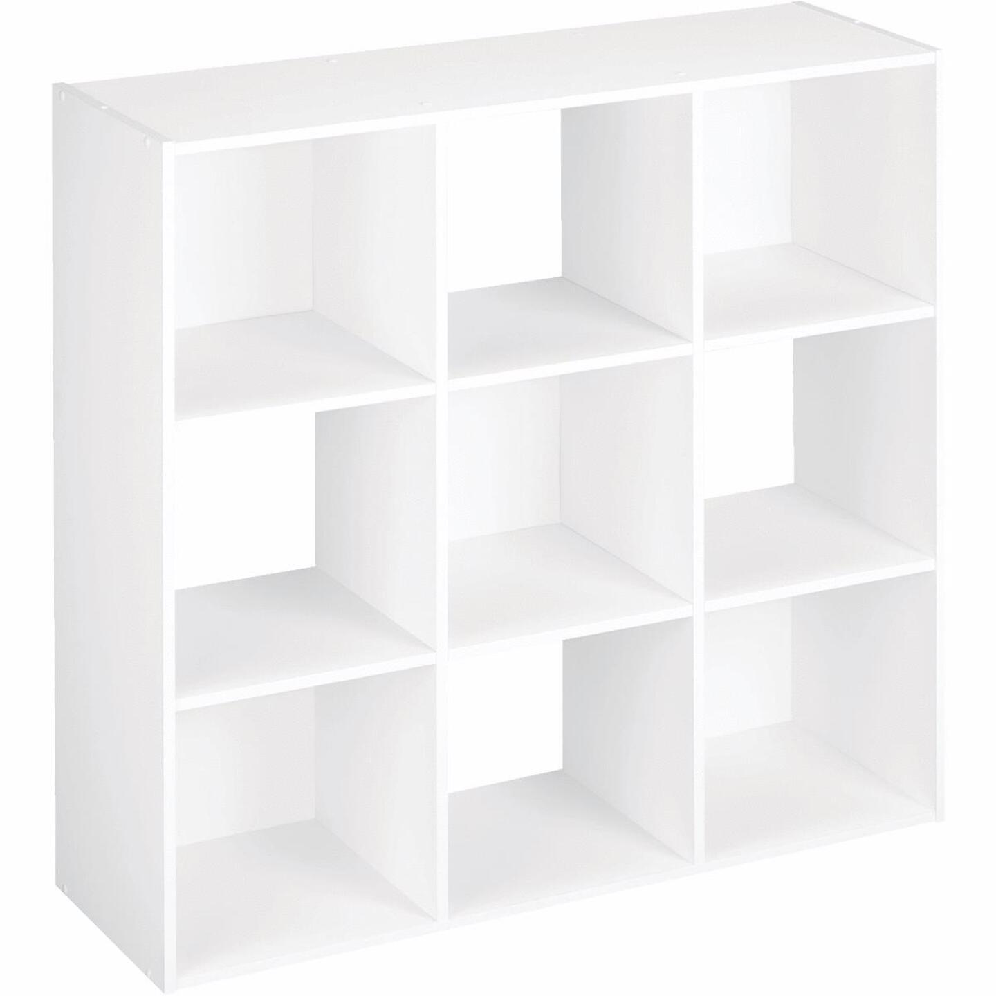 ClosetMaid Cubeicals White 9-Cube Storage Stacker Organizer Image 1