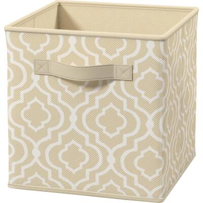 ClosetMaid Cubeicals 10.5 In. W. x 11 In. H. Beige Fabric Drawer