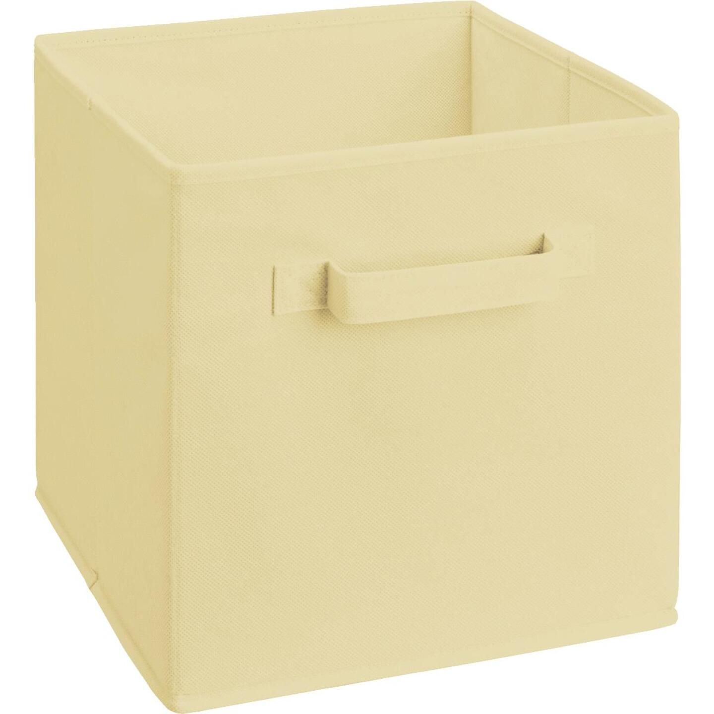 ClosetMaid Cubeicals 10.5 In. W. x 11 In. H. Natural Fabric Drawer Image 1