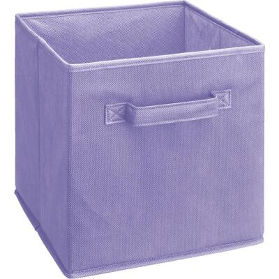 ClosetMaid Cubeicals 10.5 In. W. x 11 In. H. Purple Fabric Drawer