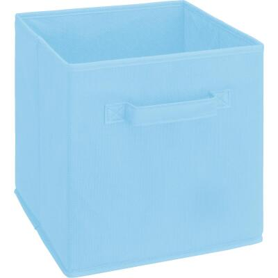 ClosetMaid Cubeicals 10.5 In. W. x 11 In. H. Light Blue Fabric Drawer