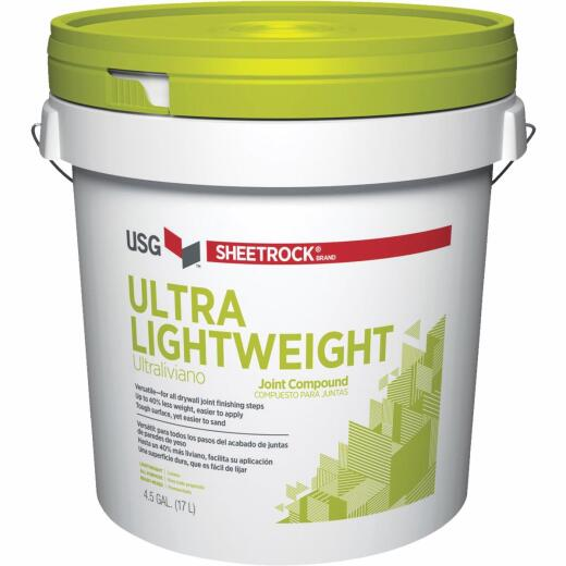 Sheetrock 4.5 Gal. Pre-Mixed Ultra Lightweight All-Purpose Drywall Joint Compound