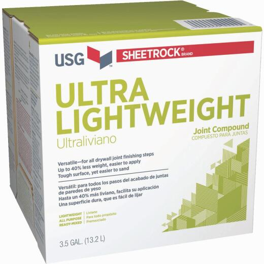 Sheetrock 3.5 Gal. Pre-Mixed Ultra Lightweight All-Purpose Drywall Joint Compound