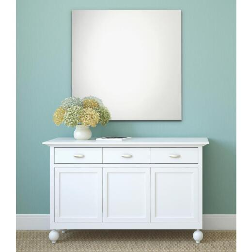 Erias Home Design 36 In. W. x 36 In. H. Frameless Polished Edge Wall Mirror