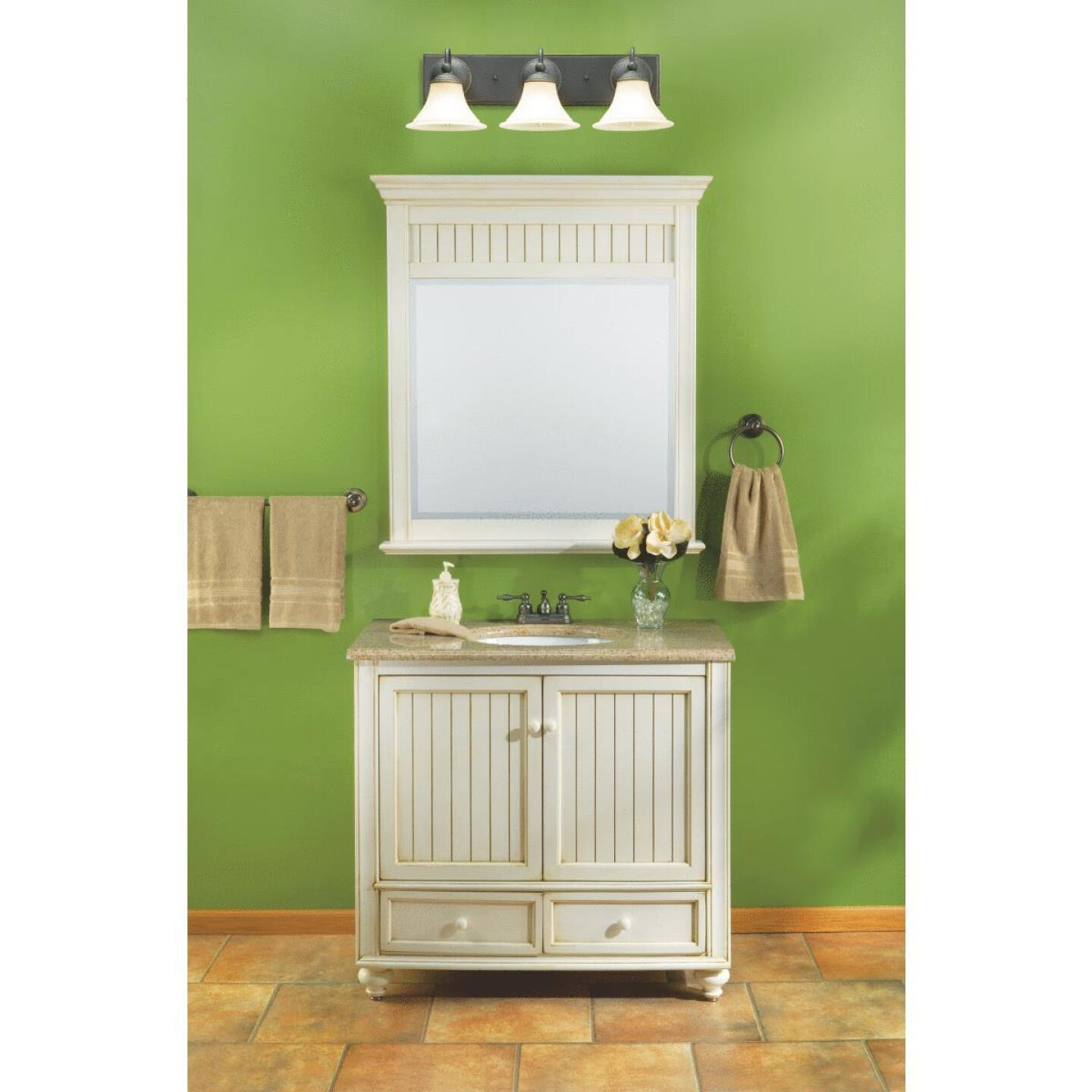 Sunny Wood Bristol Beach White 36 In. W x 34 In. H x 21 In. D Vanity Base, 2 Door/2 Drawer Image 6