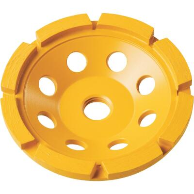 DeWalt 4 In. Segmented Single Row Cup Wheel