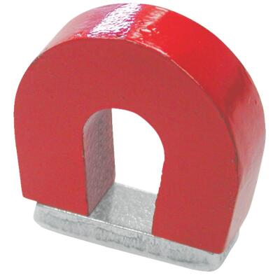 Master Magnetics 2 Lb. 1 in. Horseshoe Magnet