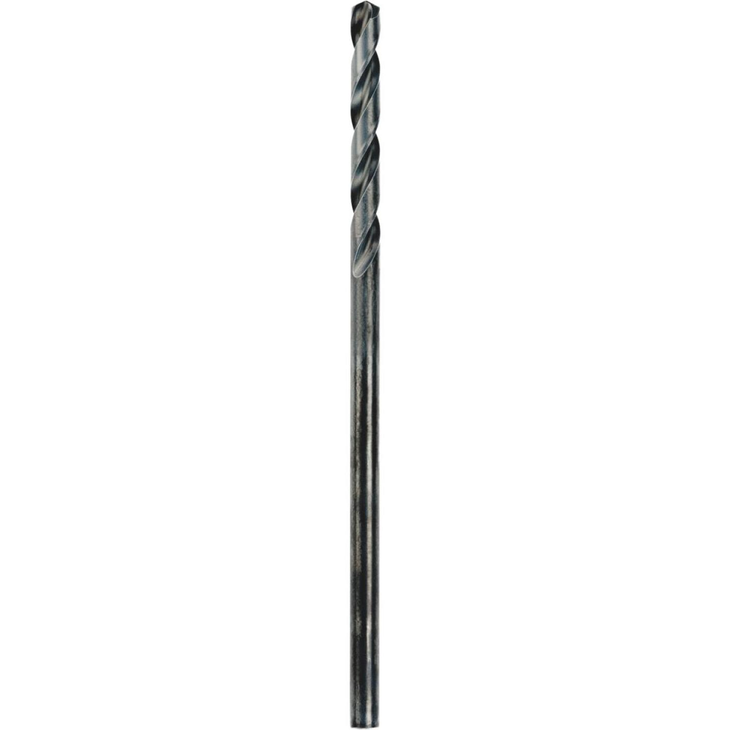 Irwin 1/2 In. x 12 In. Black Oxide Extended Length Drill Bit Image 1
