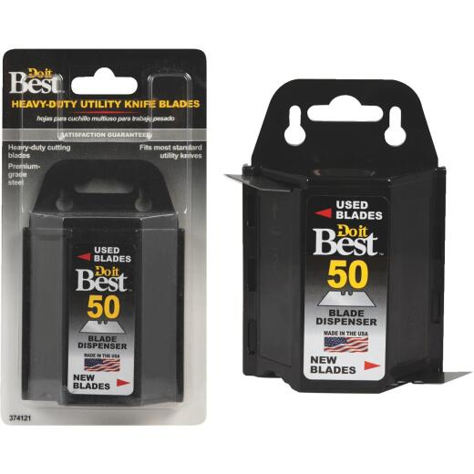 Do it Best 2-Point 2-3/8 In. Utility Knife Blade (50-Pack)