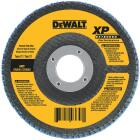 DeWalt 4-1/2 In. 60-Grit Type 29 High Performance Zirconia Angle Grinder Flap Disc Image 1