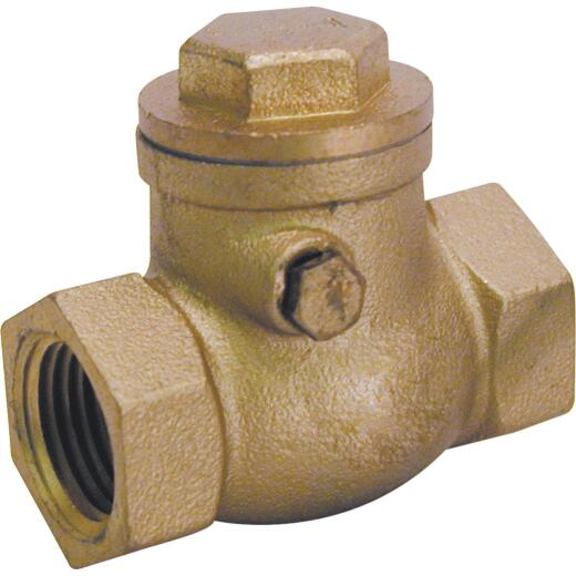 ProLine 3/4 In. Brass Swing Check Valve