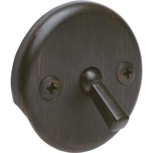 Do it Two-Hole Oil-Rubbed Bronze Bath Drain Face Plate