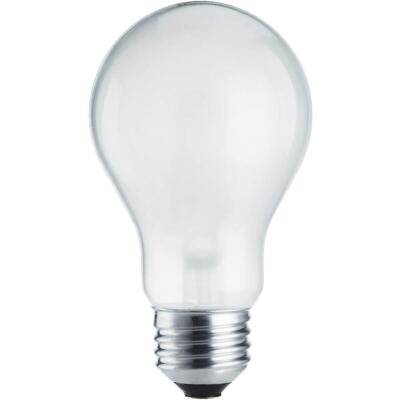 Philips 75W Equivalent Frosted Medium Base A19 Halogen Light Bulb (12-Pack)
