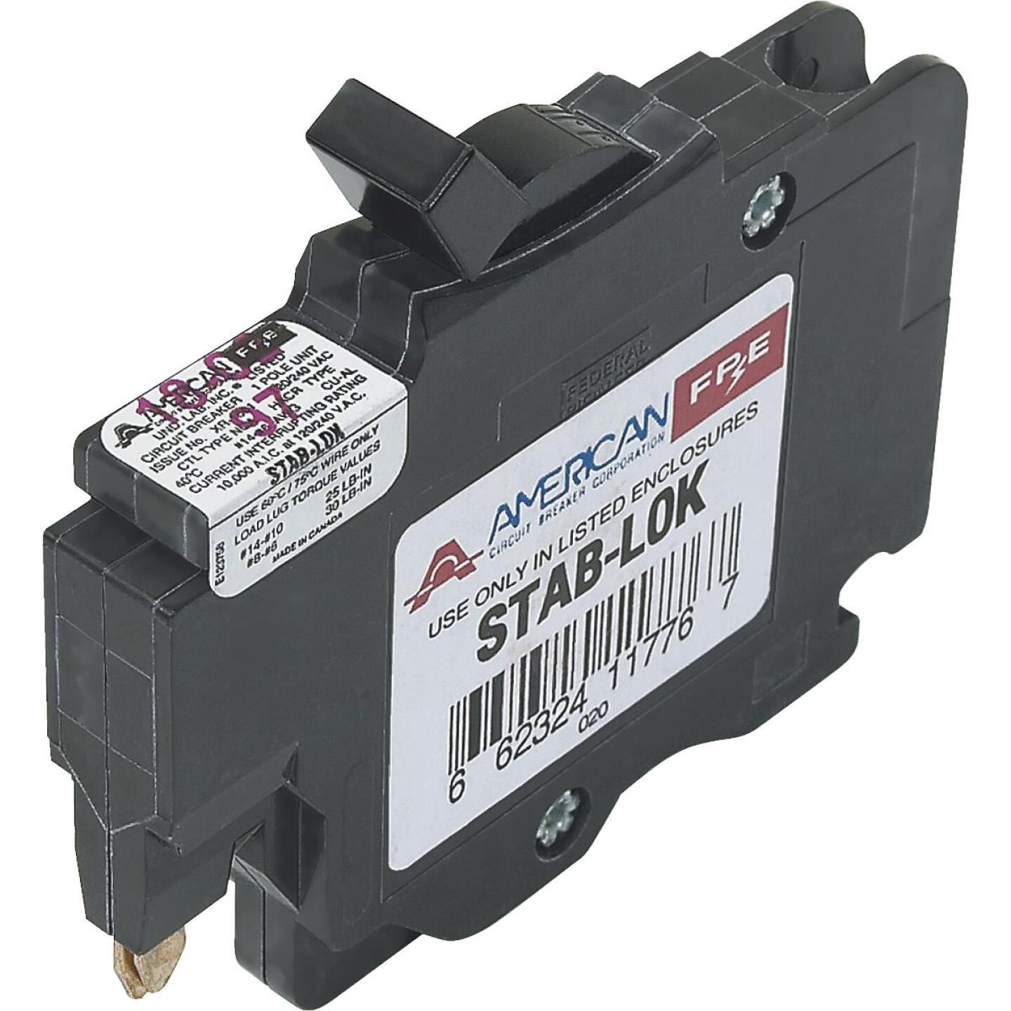 Connecticut Electric 15A Single-Pole Standard Trip Packaged Replacement Circuit Breaker For Federal Pacific Image 1