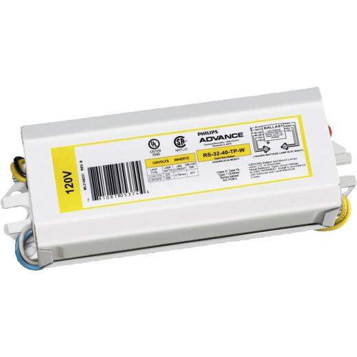 Philips Advance Rapid Start 22W/40W 120V 1 Lamp Magnetic Ballast
