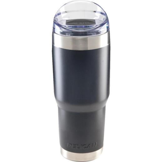 PELICAN 32 Oz. Black Stainless Steel Insulated Tumbler with Slide Closure