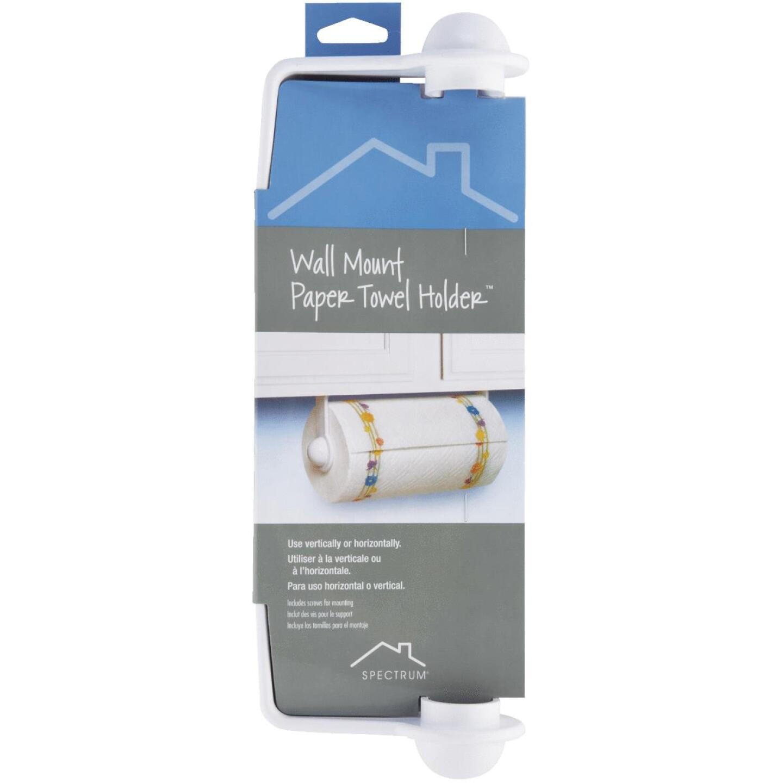 Spectrum Plastic Paper Towel Holder Image 2