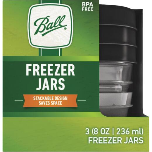 Ball 1/2 Pt. Freezer Jar (3 Pack)