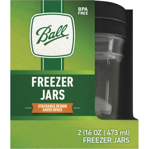 Ball Pint Freezer Jar (2 Pack)