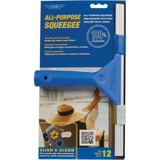 Ettore All Purpose 12 In. Rubber Squeegee