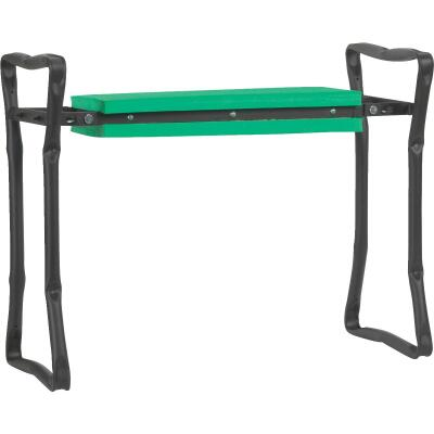 Best Garden Green Foam Pad w/Black Steel Frame Garden Kneeler Bench