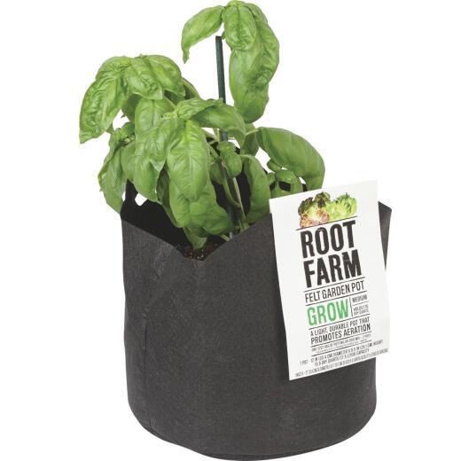Root Farm Felt Medium Garden Pot