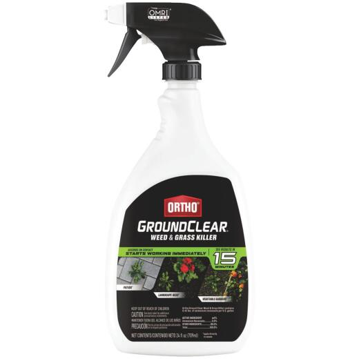 Ortho GroundClear 24 Oz. Ready To Use Trigger Spray Weed & Grass Killer
