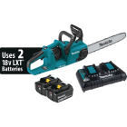 Makita 18V LXT Lithium-Ion Brushless Cordless 16 In. (5.0Ah) Chain Saw Kit Image 1