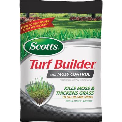 Scotts Turf Builder with Moss Control 25 Lb. 5000 Sq. Ft. 23-0-3 Lawn Fertilizer