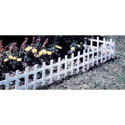 Master Mark 13.5 In. H x 33 In. L Plastic Decorative Border Fence