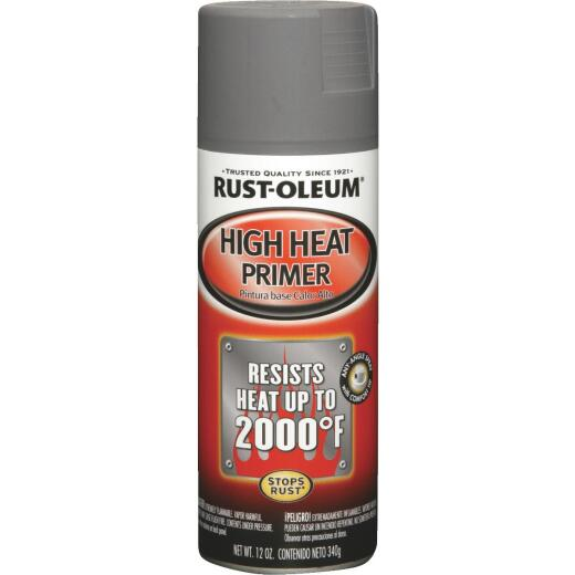 Rust-Oleum 12 Oz. High Heat Primer, Gray