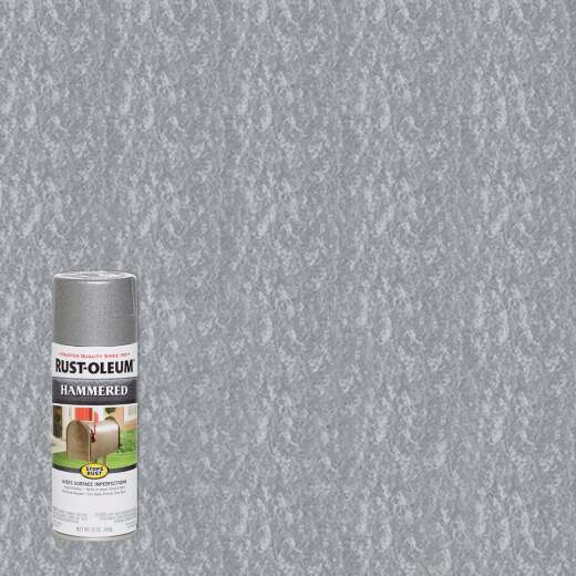 Rust-Oleum Silver Metallic 12 Oz. Hammered Finish Spray Paint