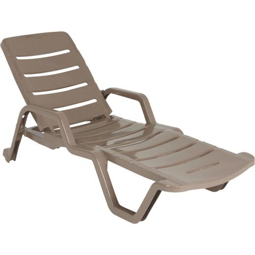 Adams Portobello Resin Adjustable Chaise Lounge