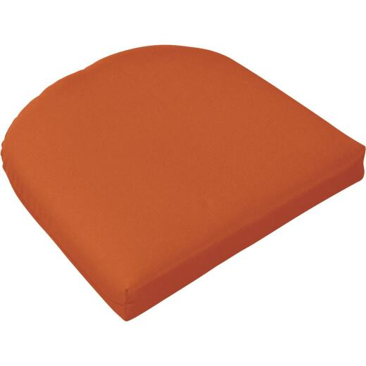 Casual Cushion 19.5 In. W. x 2.5 In. H. x 19.5 In. D. Pottery Chair Cushion