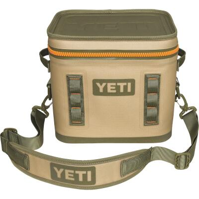 Yeti Hopper Flip 12 Tan Soft-Side Cooler (13-Can)