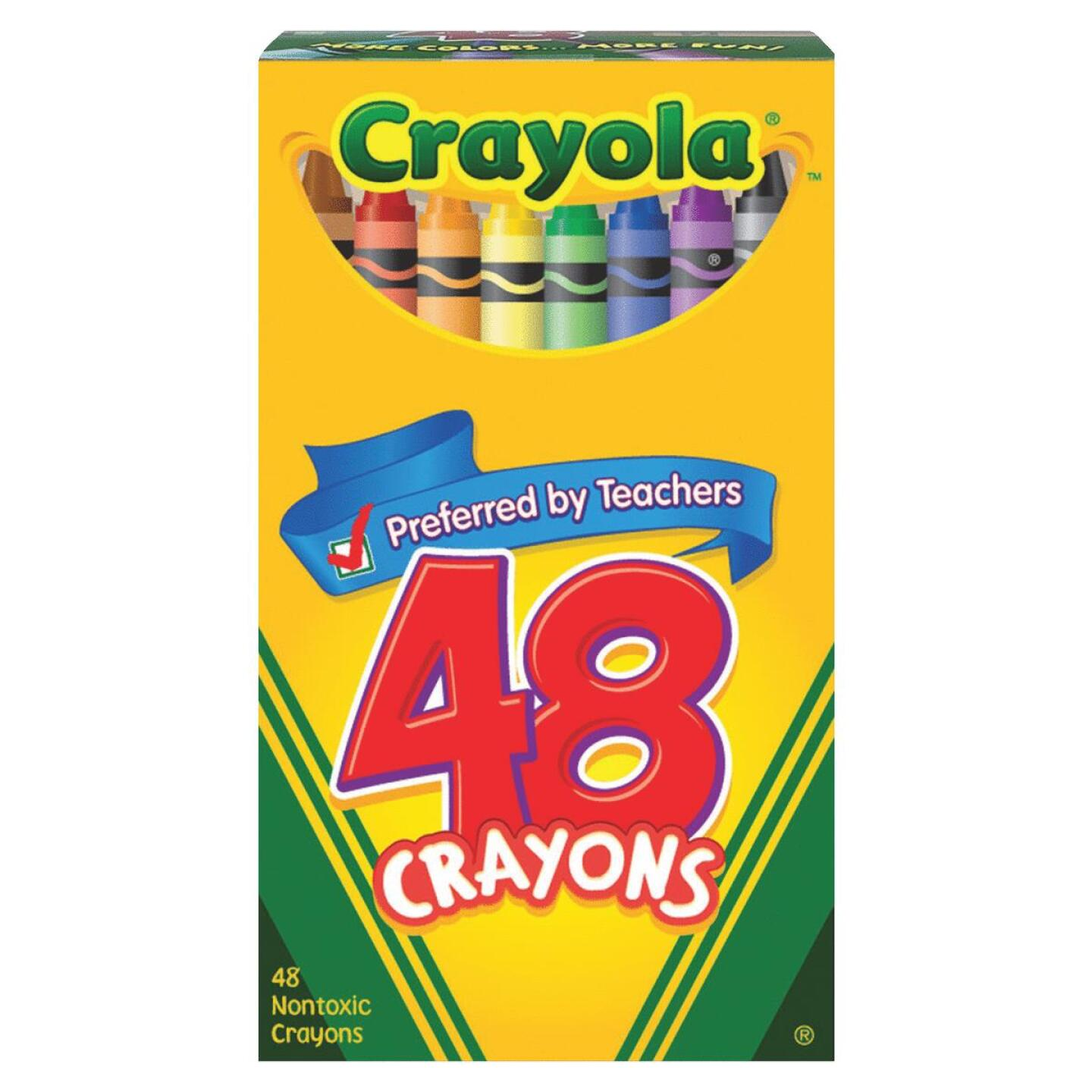 Crayola Traditional Crayons (48-Pack) Image 1